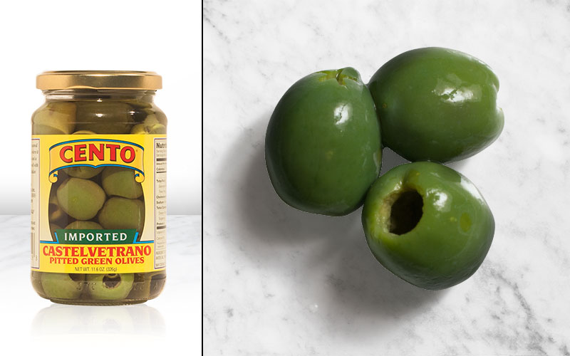 Imported Castelvetrano Pitted Green Olives