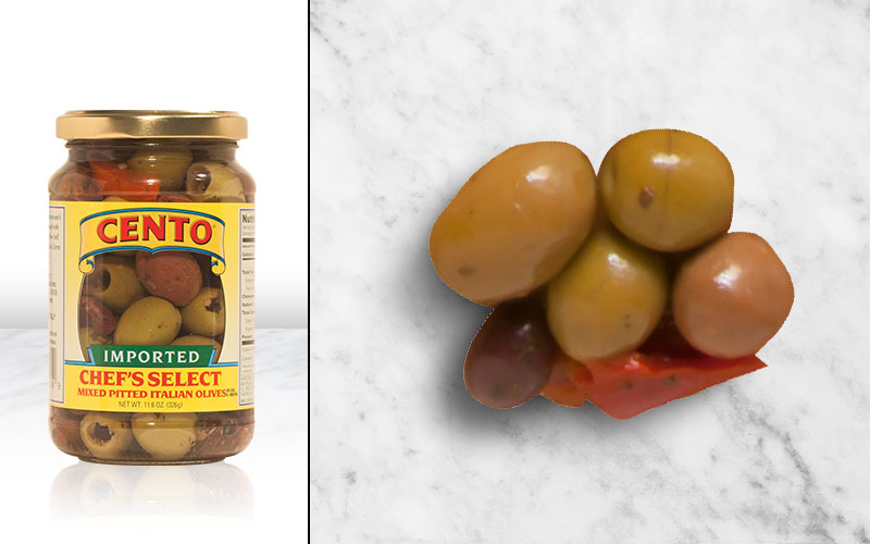 Imported Chef Select Mixed Pitted Italian Olives