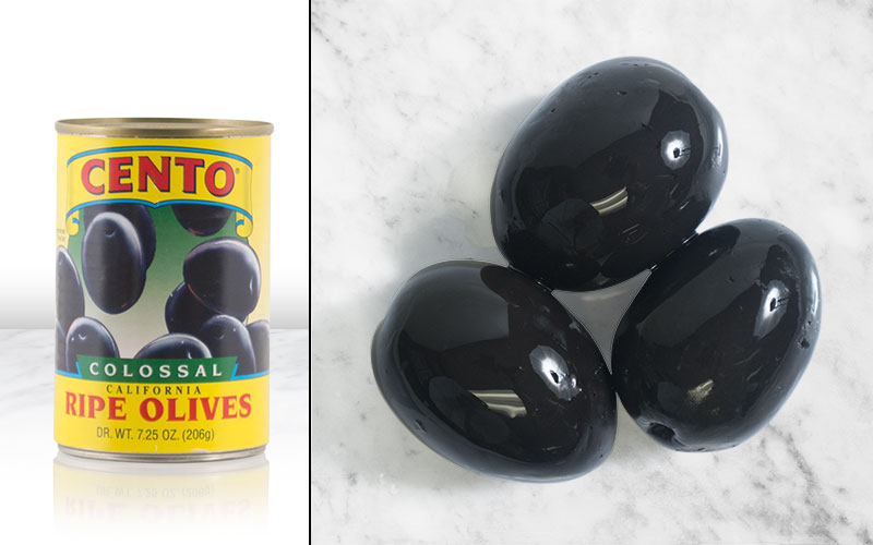 Colossal Whole Black Olives