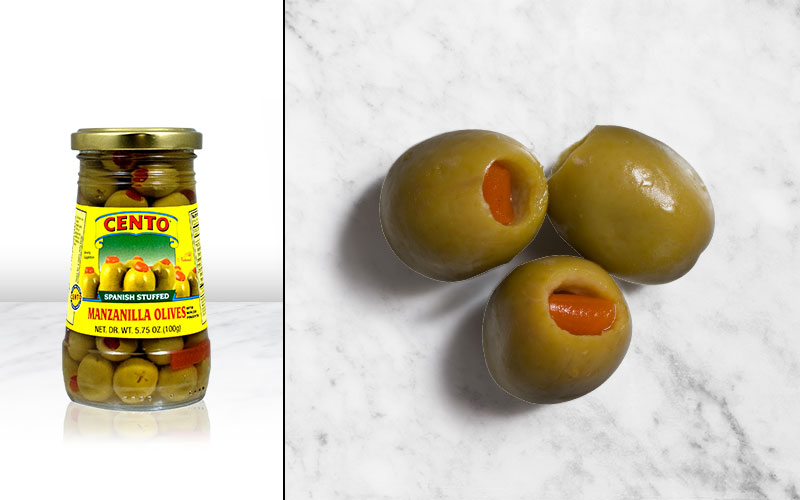 Spanish Stuffed Manzanilla Olives