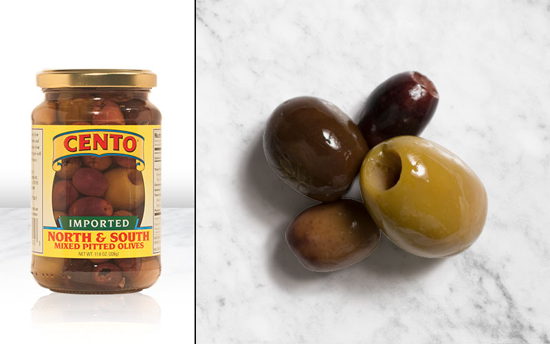 Imported North and South Pitted Olives