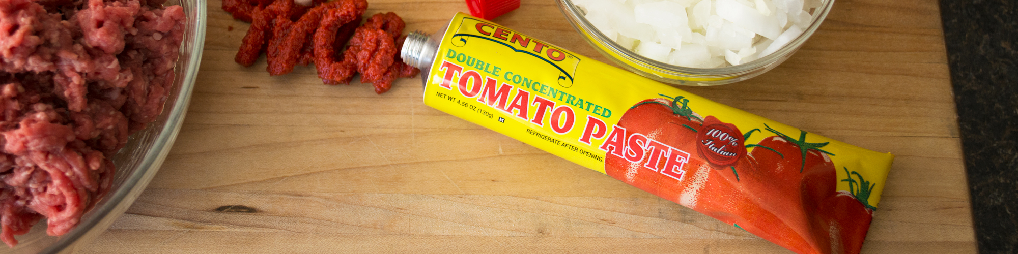 Tomato Paste In A Tube