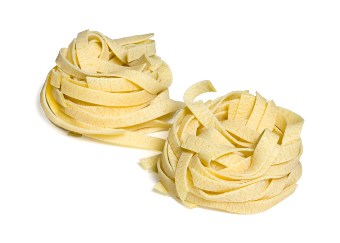 Egg Fettuccine Nests