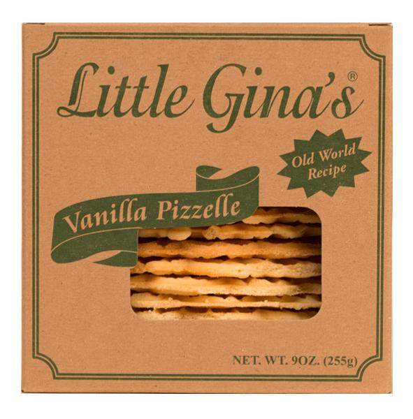 Little Gina's Vanilla Pizzelle