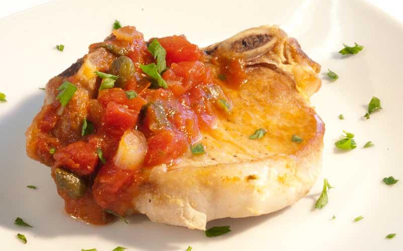 pork milanese sauce