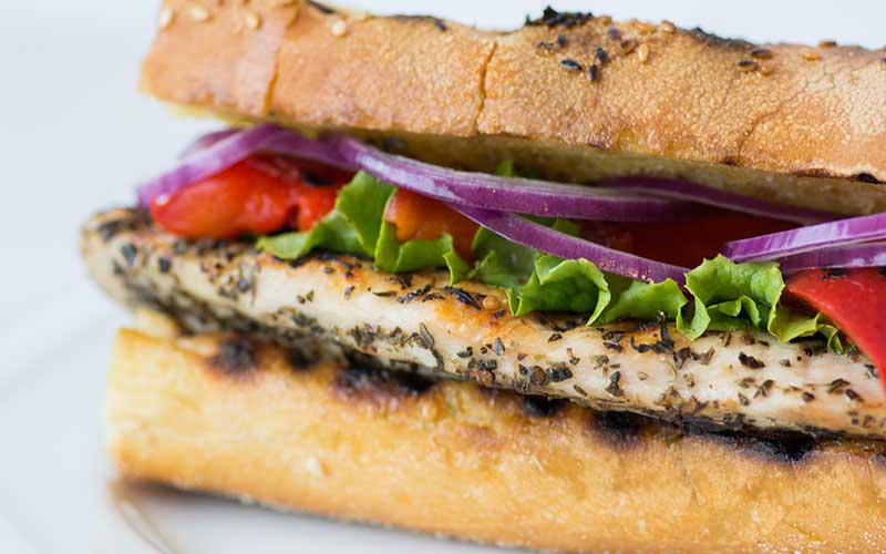 Grilled Italian Chicken Sandwich